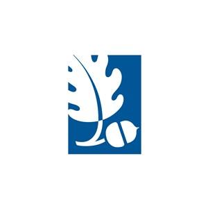 服饰行业树叶logo标志