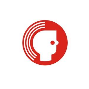 网络科技头像发射信号logo标志