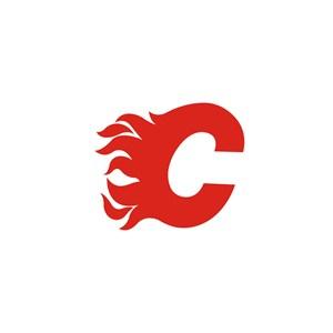 金融机构C字l火焰logo标志