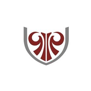 设计传媒京剧图腾脸logo标志