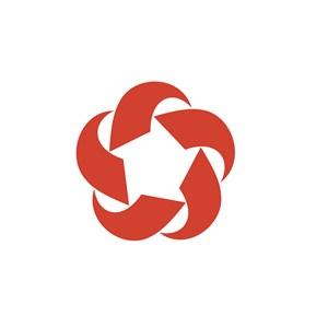 金融机构花logo标志