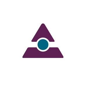 商务贸易三角logo标志