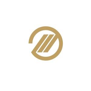 金融機構圓形e字logo標志
