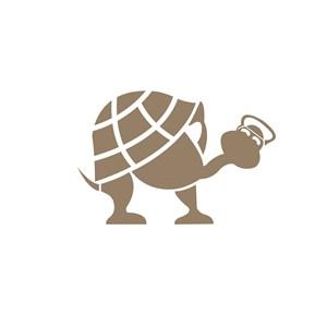 儿童服饰小乌龟logo标志