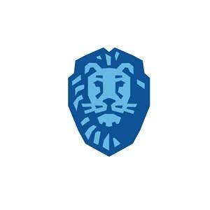 酒店旅游狮子logo标志