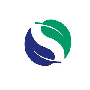 家居行业叶子logo标志