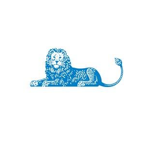 电子机械狮子logo标志