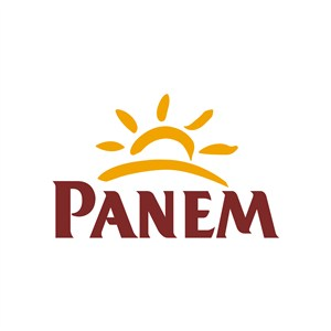 PANEM太阳图案食品logo