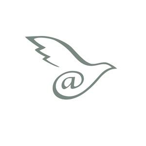 飞鸽@图案网络科技公司logo