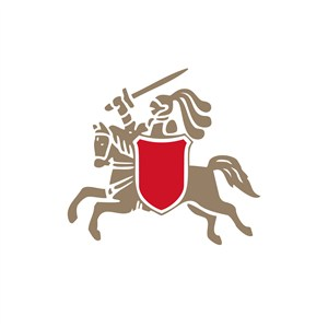 骑士啤酒标志设计