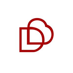 英文字母D标志设计