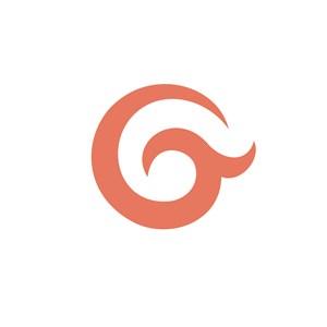 英文字母G标志设计素材