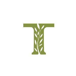 字母T创意标志设计