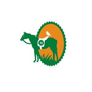 马图案运动休闲logo