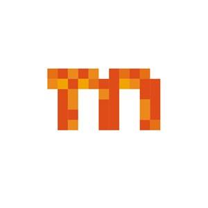M马赛克设计传媒公司logo
