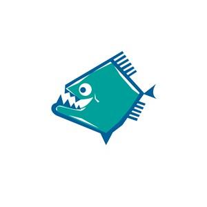 小丑鱼设计传媒公司logo