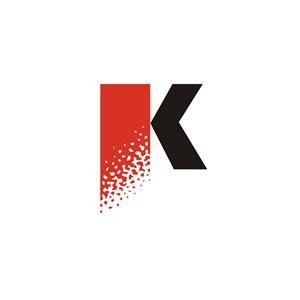 K文化传媒公司标志设计
