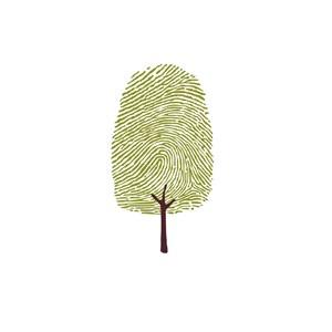 指纹树家居地产logo设计