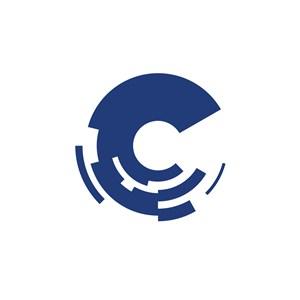 C字母网络科技公司logo