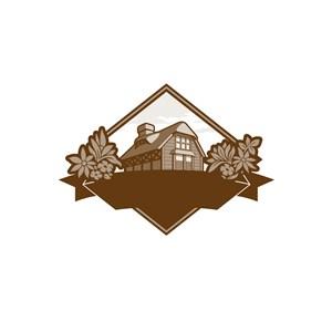 农庄食品标志设计