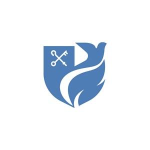 飞鸽剪刀美容医疗公司logo