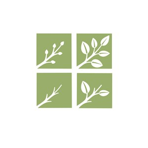 树叶家居品牌logo设计