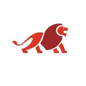 狮子设计传媒公司品牌logo