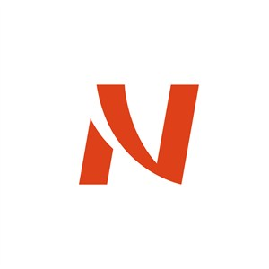N字母运动休闲logo