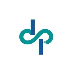 DP设计传媒公司logo