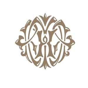 H花纹美容医疗logo设计
