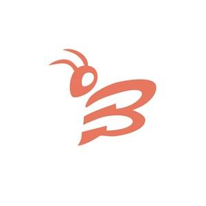 昆虫标志设计素材