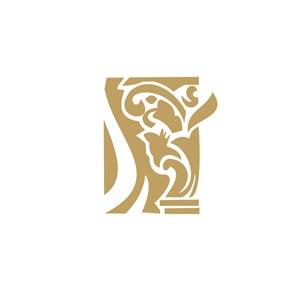 特色酒店LOGO设计图标
