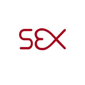 sex英文标志创意字体设计