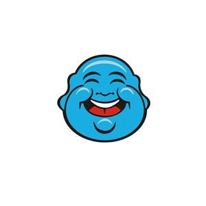 弥勒佛笑脸标志设计