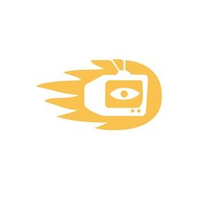 电视机创意标志设计