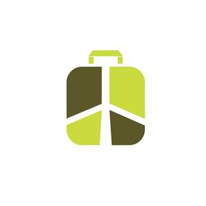 手提箱标志设计素材