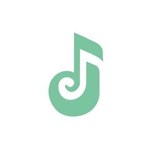 音符J标志设计素材