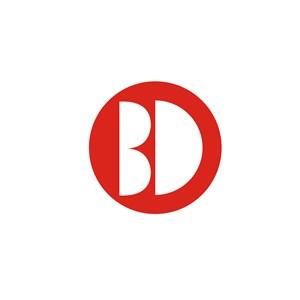 B和D英文字母LOGO设计