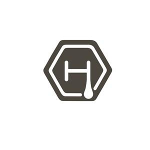 字母H标志设计素材