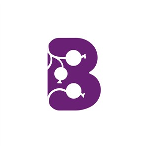 字母B标志设计
