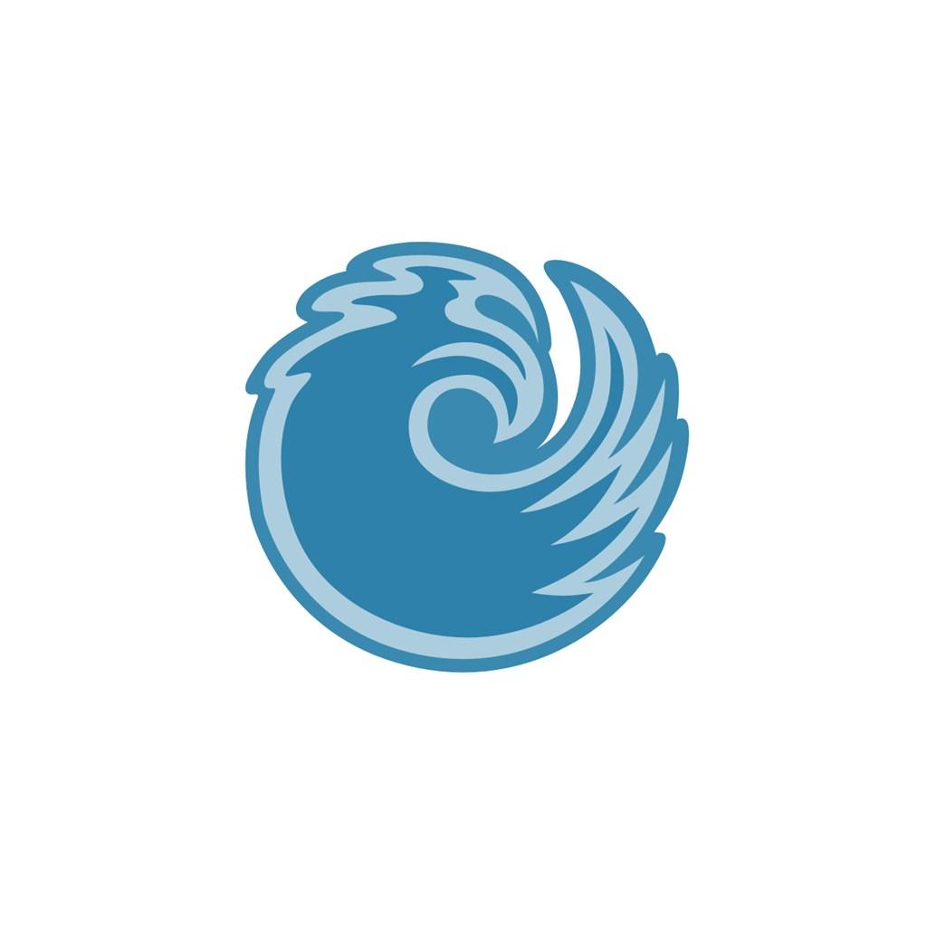 漩涡标志logo设计素材