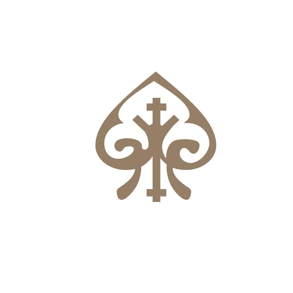黑桃复古标志设计素材