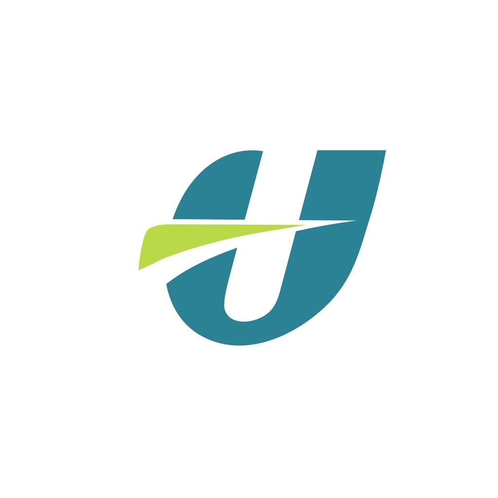 字母u标志素材设计