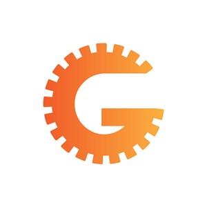 个性英文G字母标志设计素材下载