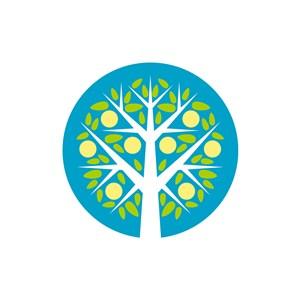 彩色树矢量logo图标logo图标素材下载