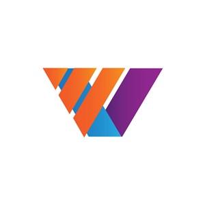 彩色商务矢量logo图标素材下载