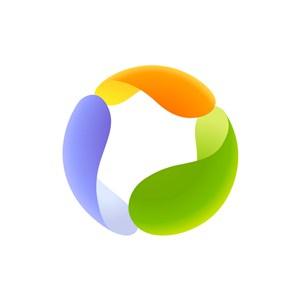 软件行业logo设计-彩色软件矢量logo图标素材下载