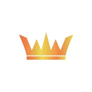金色皇冠矢量logo设计素材