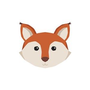 狐貍矢量圖商標素材