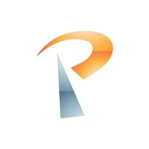 矢量P英文字母logo设计素材